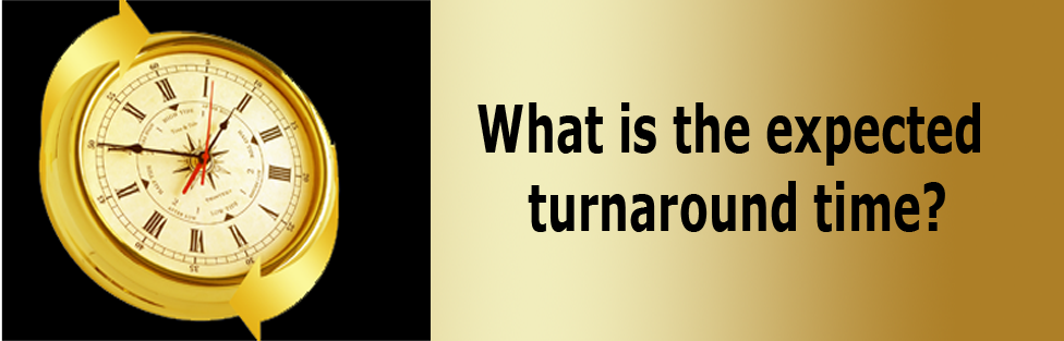 What is the expected turnaround?