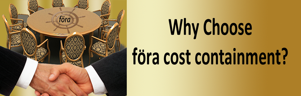 Why Choose föra cost containment?
